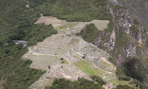 Zdjecie PERU / Cusco / widok z Wayna Picchu / Machu Picchu