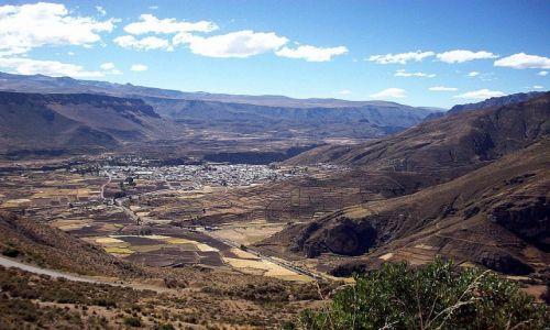 Zdjecie PERU / Andy / widok na Chivay / Chivay