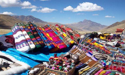 Zdjęcie PERU / Andy /   / Barwy Peru