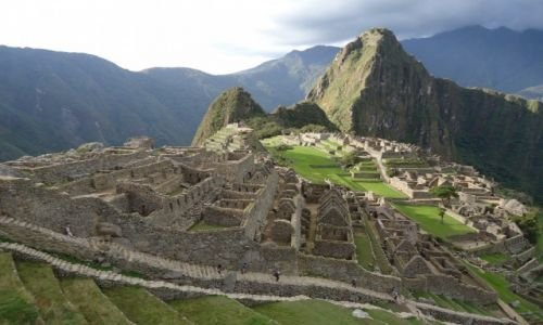 Zdjecie PERU / Cuzco / Machu Piccchu / Panorama Machu Picchu