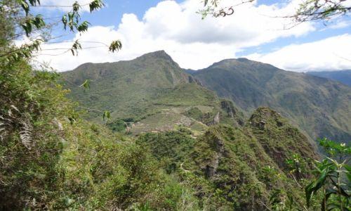 PERU / Cuzco / Machu Piccchu / Widok z Wayna Picchu
