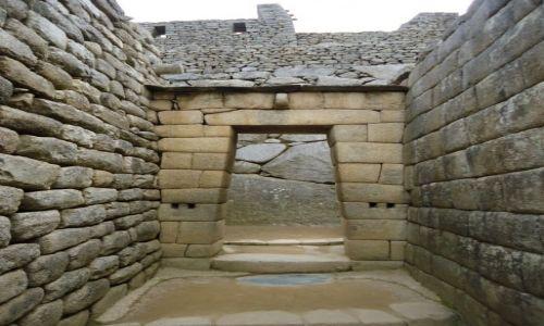 Zdjecie PERU / Cuzco / Machu Picchu / Mury