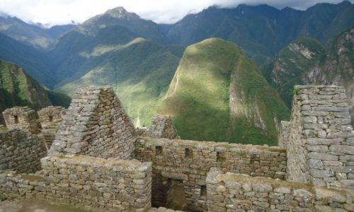 PERU / Cuzco / Machu Picchu / Dolne miasto