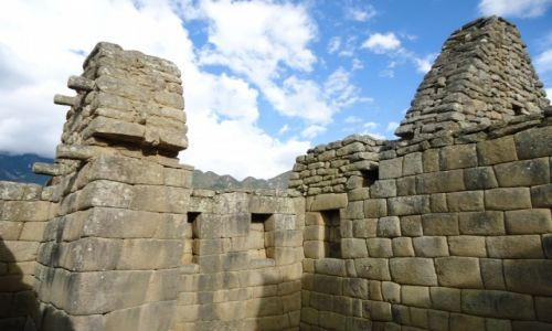 Zdjecie PERU / Cuzco / Machu Picchu / Mury (2)