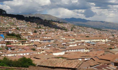 PERU / Cuzco / Cuzco / Panorama Cuzco