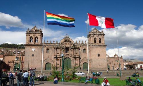 PERU / Cuzco / Cuzco / Trochę tęczowo