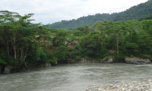 Zdjęcie PERU / Madre de Dios / Pilcopata / Wioska w dżungli