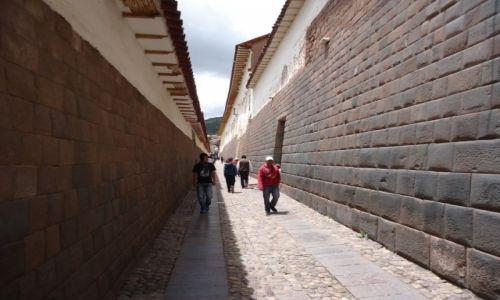 Zdjecie PERU / Cuzco / Cuzco / Inkaskie mury