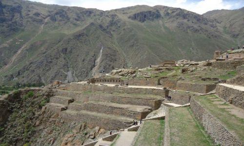 Zdjecie PERU / Cuzco / Ollantaytambo / Inkaskie tarasy