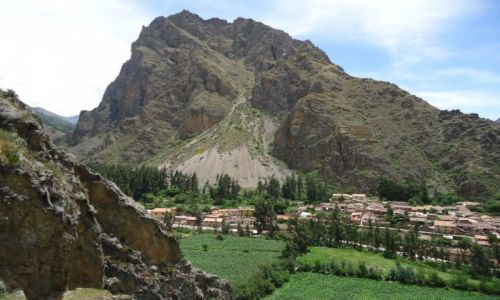 Zdjęcie PERU / Cuzco / Ollantaytambo / Pinkuylluna