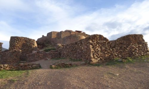 Zdjecie PERU / Cuzco / Pisaq / Twierdza Pisaq (2)