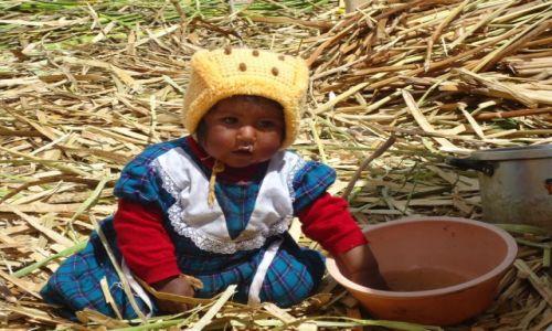 Zdjecie PERU / Puno / Wyspy Uros / Dzieci na Uros
