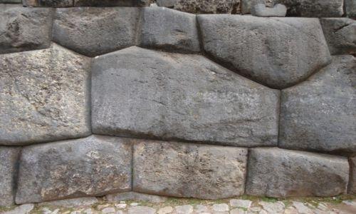 Zdjecie PERU / Cuzco / Cuzco, Saqsayhuaman / Inkaski mur