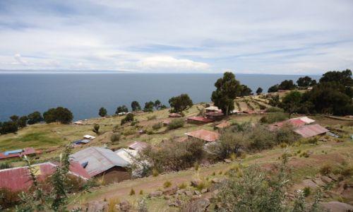 Zdjęcie PERU / Puno / Wyspa Taquile (Titikaka) / Wioska (Taquile)