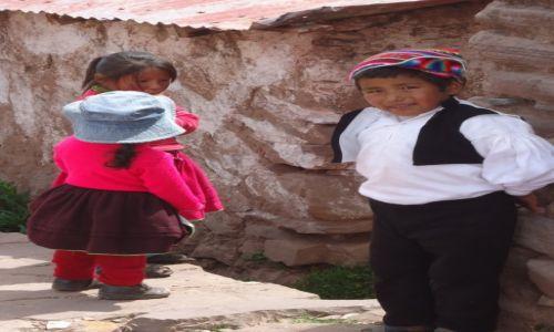 Zdjęcie PERU / Puno / Wyspa Taquile (Titikaka) / Indianie na Taquile