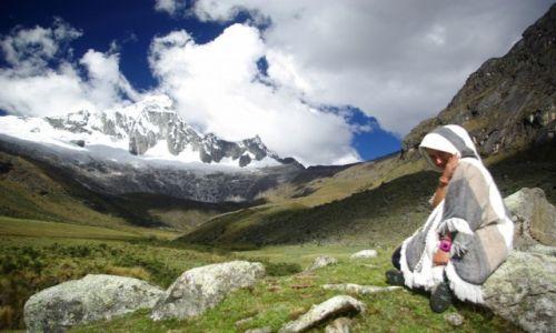 Zdjecie PERU / Cordillera Blanca / Taullipampa (4250 m.n.p.m.) / Konkurs