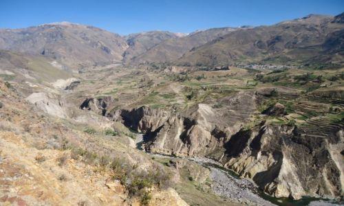 Zdjęcie PERU / Arequipa / okolice Chivay / Kanion Colca (2)