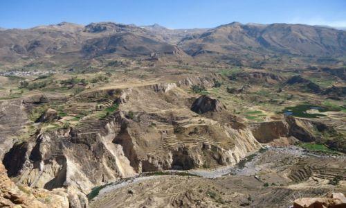 PERU / Arequipa / okolice Chivay / Kanion Colca (3)