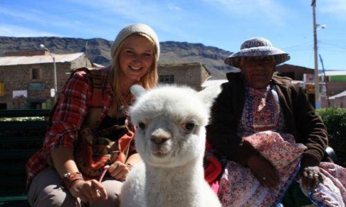 Zdjecie PERU / Kanion Colca / Cabanaconde / Peruwiańskie szczęscie