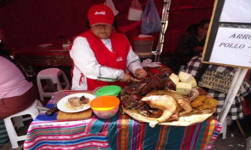 Zdjecie PERU / Cuzco / Cuzco / Pieczona świnka morska ....