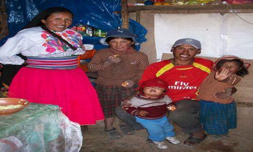 PERU / Jez.Titicaca / Wyspa Amantani / Gościnni Aymara