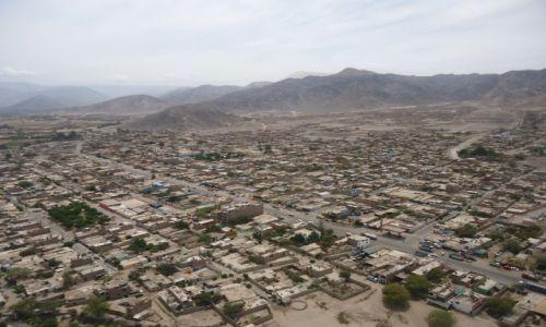 Zdjęcie PERU / Ica / Nazca / Nazca z lotu ptaka