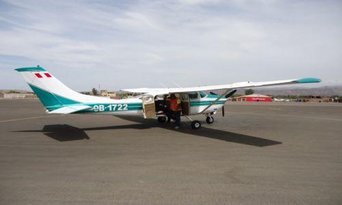 Zdjęcie PERU / Ica / Nazca / Nazca - lotnisko