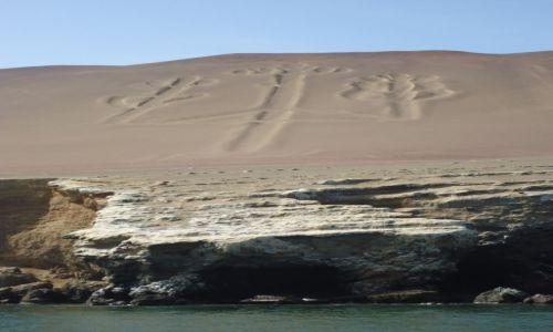 Zdjęcie PERU / Ica / Paracas / Kandelabr