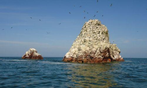 Zdjęcie PERU / Ica / Islas Ballestas / Skały