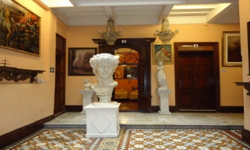PERU / Lima / Lima / Hotel Espana w środku