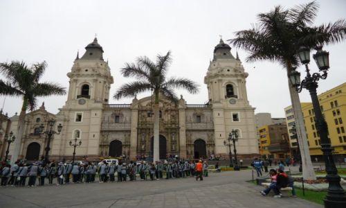 Zdjęcie PERU / Lima / Lima / Katedra w Limie
