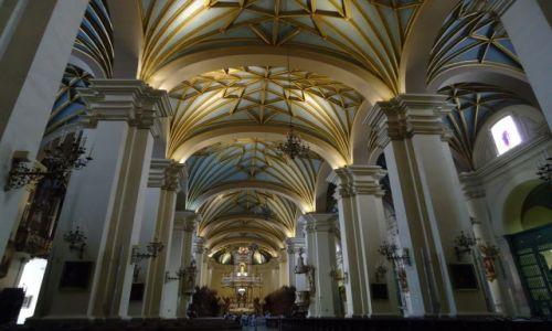 Zdjęcie PERU / Lima / Lima / Katedra w Limie (wnętrze)