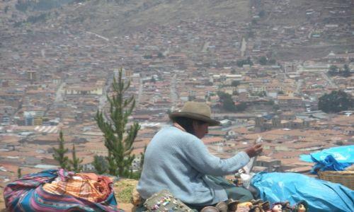 Zdjecie PERU / Cusco / Cusco / Indianka