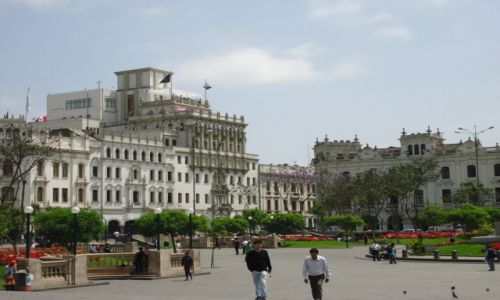 Zdjęcie PERU / Lima / Lima / Plaza San Martin