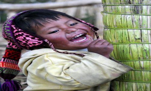 Zdjecie PERU / Titicaca:) / Jezioro Titicaca / Radość