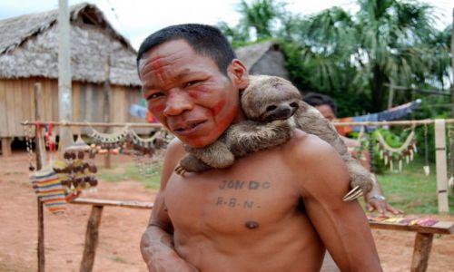 Zdjecie PERU / Amazonas / Rezerwat Yaguas / Tubylcy