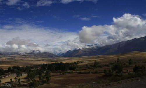 Zdjecie PERU / Cusco / Droga do Aquas Calientes / Peruwiańskie niebo   KONKURS
