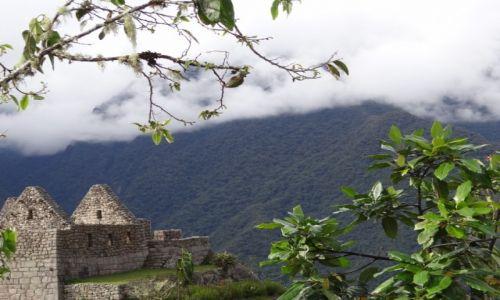 Zdjęcie PERU / Machu Picchu / MP / Dorobić dach i można mieszkać