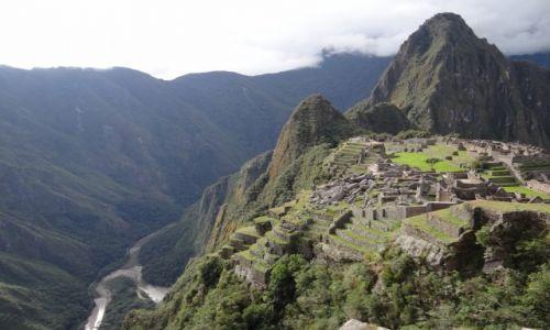 Zdjęcie PERU / Machu Picchu / Machu Picchu / Kolejna odsłona z rzeką Urubamba