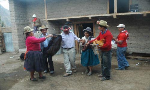 PERU / Arequipa / Cahuana / Święto w Cahuanie