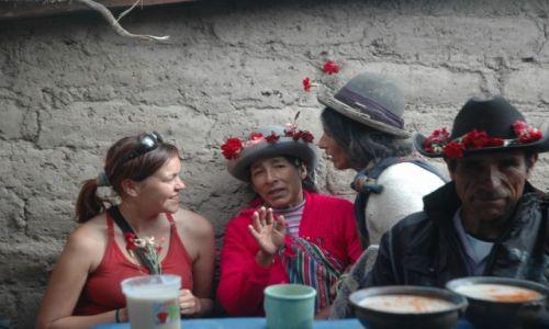 PERU / Arequipa / Cahuana / Przypadkowa peruwiańska impreza