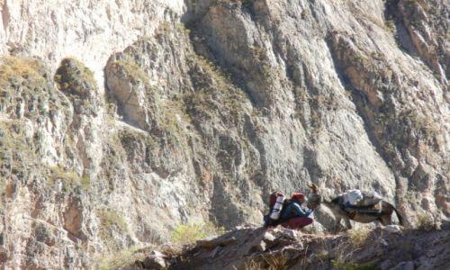 Zdjecie PERU / Arequipa / Pomiędzy wioskami / W drodze do Puyca (zdj. do art.)