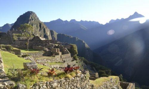 Zdjęcie PERU / Cordillera Vilcabamba / Machu Picchu / Poranek na Machu