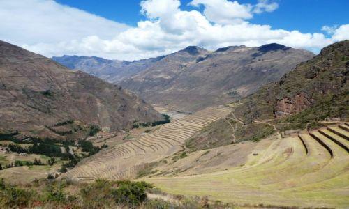 Zdjęcie PERU / okolice Cuzco / Pisaq / Tarasy w Pisaq