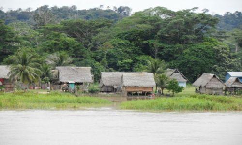 Zdjęcie PERU / Amazonka / Amazonka / chatki