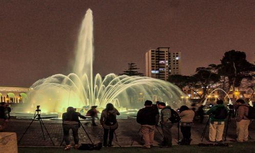 Zdjęcie PERU / - / Lima / fontanny w Limie