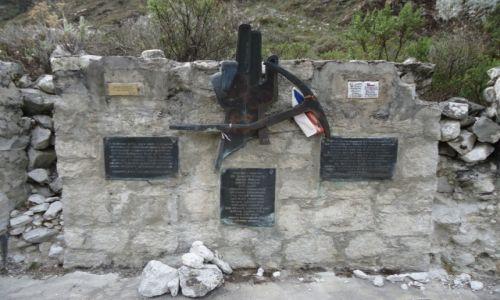 Zdjecie PERU / Ancash / Park Narodowy Huascaran / Cmentarz ofiar gór
