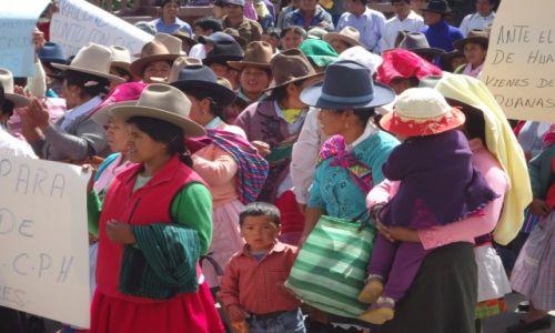 Zdjęcie PERU / Ancash / Huaraz / Lokalna demonstracja (2)