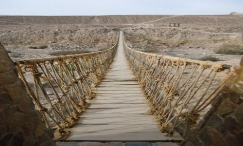 Zdjecie PERU / Tacna / Miculla / Inkaski most (2)