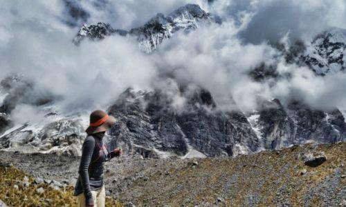 Zdjęcie PERU / Cusco  / Salkantay  / Widok na górę Salkantay